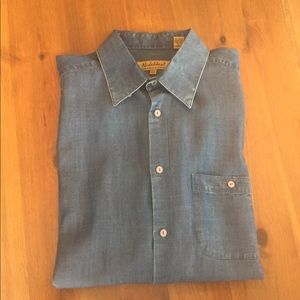 Other - Mens Denim-Look Tailored Shirt